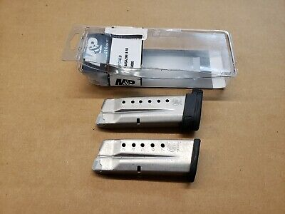 $24.80 • Buy Lot M&P Smith & Wesson 9 Shield 9mm 8 & 7 Rd Round Magazine 199360000 Shell Clip