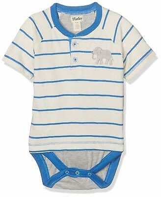 £4.50 • Buy Hatley Baby Body With T-shirt Layer One Piece - Elephant