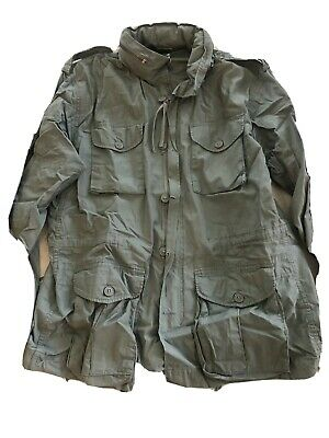 $55 • Buy Rothco Vintage Lightweight Cotton M-65 Jacket  Size Large New With Hood