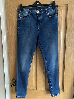 £9.99 • Buy Lipsy Relaxed Skinny Jeans From Next, Size 14R, Hardly Worn