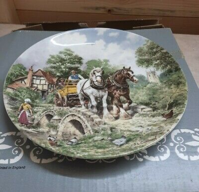 £4.99 • Buy Decorative Plate-'Off To Work' From 'Life On The Farm' By J L Chapman, Wedgwood