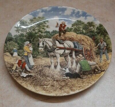 £3.99 • Buy Wedgwood - Vintage Decorative Plate - Life On The Farm -  Haymaking  Plate