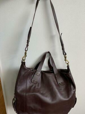 AU640.76 • Buy Alexander McQueen Leather Tote Shoulder Bag Zipper Charm Women's From Japan USED