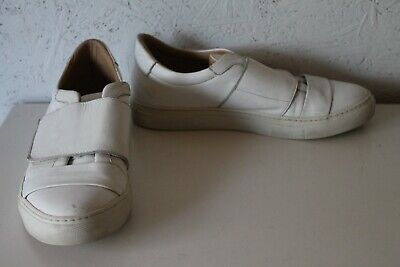 AU29 • Buy SCANLAN And THEODORE White Leather Sneaker Sz 39