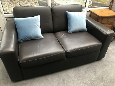 £50 • Buy NEXT Brown Leather Sofa
