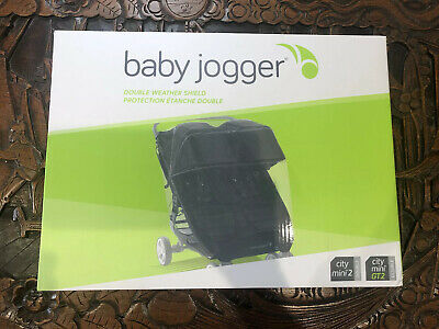 £39 • Buy Brand New In Box Baby Jogger Double Weather Shield For City Mini/Mini City GT2