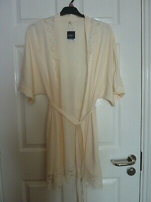 AU11.07 • Buy Ladies NEXT Lightweight Thin Dressing Gown Peach New With Tags Size XL