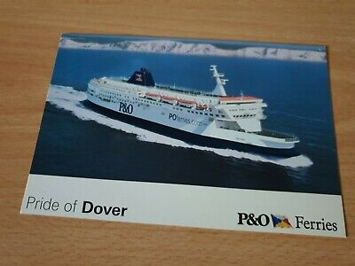 £0.99 • Buy P&o Ferries - Pride Of Dover - Official Company Postcard - New