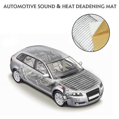 $48.99 • Buy Car Sound Deadener Insulation Material Heat Proofing Self Adhesive 8ft X 3ft