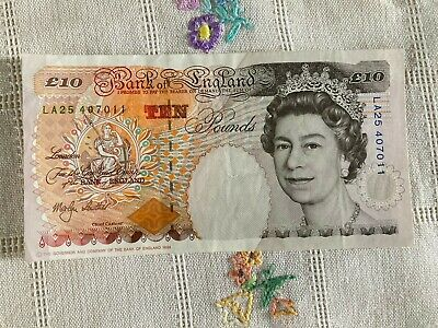 £14.99 • Buy Ten Pound Note £10 Bank Of England Old Paper Lowther LA25