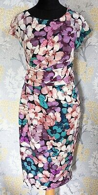 AU20.27 • Buy  Beautiful Phase Eight Special Occasion Floral & Butterfly Pencil/Wiggle Dress10