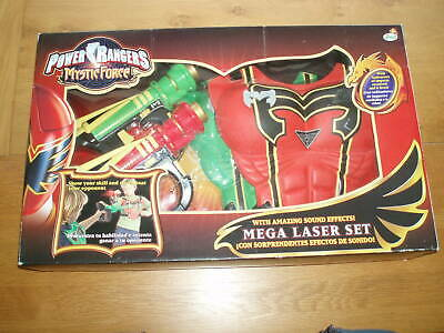 £40 • Buy Power Rangers Mystic Force  Mega Laser Set With Amazing Sound Effects For 2 Play