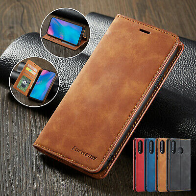£5.88 • Buy For Huawei P30 Lite P20 Mate 20 Pro Luxury Leather Wallet Flip Phone Case Cover