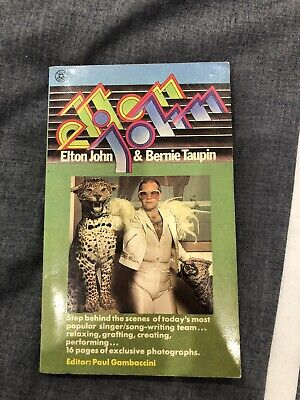 £10.80 • Buy Elton John And Bernie Taupin Interview Book