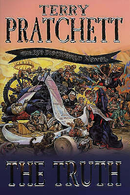 £1.99 • Buy The Truth By Terry Pratchett (Hardcover, 2000)