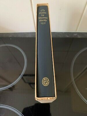 £26 • Buy Folio Society Poems By Thomas Hardy Lovely Book ?First Edition 1979+slipcase