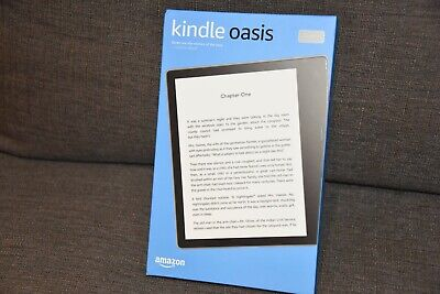 AU487.80 • Buy Amazon Kindle Oasis (9th Generation) 32GB, Wi-Fi, 7in - Graphite