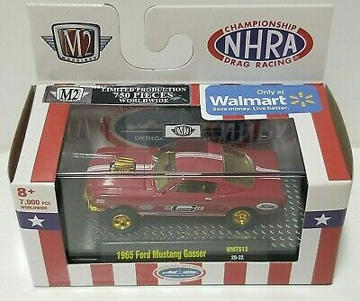 $34.99 • Buy M2 NHRA 1965 Ford Mustang Gasser Red Chase 750 HTF