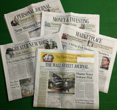 $117.19 • Buy All-Access Wall Street Journal 1-Year Print & Digital Subscription Fast Delivery