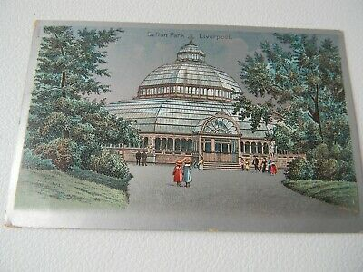 £2.50 • Buy Sefton Park Liverpool Palm House 1907 Postcard Used Stamped Dated Timed