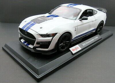 $45.20 • Buy 2020 Ford Mustang Shelby GT500 ~ White ~ 1:18 Metal Die Cast Car ~ Maisto