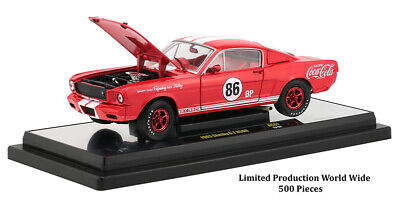 $0.99 • Buy Chase 1965 FORD MUSTANG SHELBY G.T. 350R #86  COCA-COLA  1/24 BY M2 50300-RC01