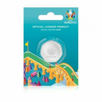 £10.99 • Buy NEW Limited Edition Solomon Islands 20 Cents UEFA Euro 2020 Silver-Plated Coin