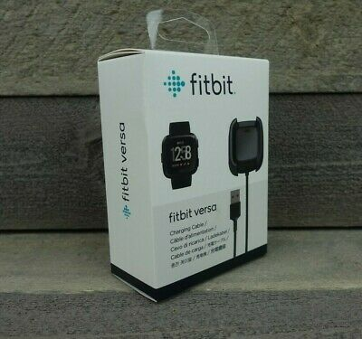 $ CDN18.66 • Buy Genuine Fitbit Versa Charging Cable Cord Dock Authentic Charger Fit Bit - NEW