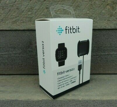 $ CDN18.66 • Buy Fitbit Charging Cable For Fitbit Versa 2 - Black - NEW SEALED!
