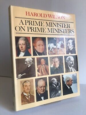 £49.99 • Buy SIGNED  A Prime Minister On Prime Ministers  Harold Wilson BCA Hardback Edition