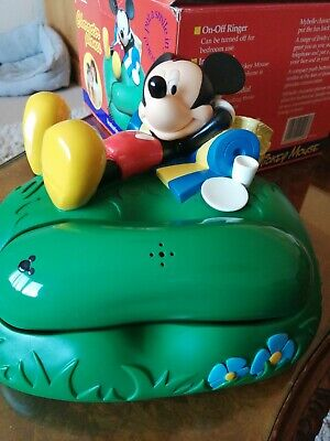 £39 • Buy Rare Mickey Mouse Phone New Condition