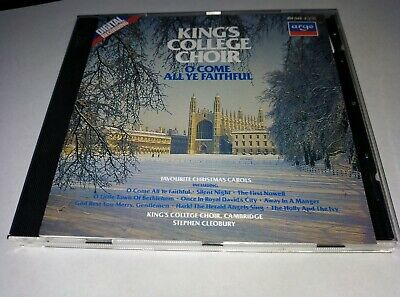 £4.97 • Buy Kings College Choir O Come All Ye Faithful An Argo Cd Made In W Germany
