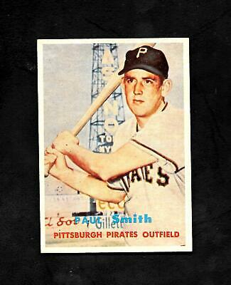$ CDN10.52 • Buy 1957 Topps #345 Paul Smith - Nm/mt Or Better - Pirates - 3.50 Flat Shipping