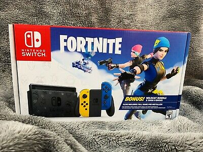 $500 • Buy FORTNITE NINTENDO SWITCH Console Brand New In Box WILDCAT BUNDLE Code Included