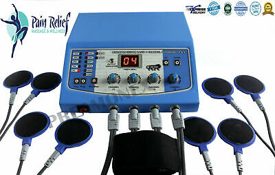£119.99 • Buy New Professional Use Electrotherapy Machine 4 Channel Therapy Equipment S3U