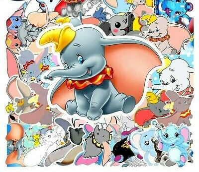 £2.89 • Buy 20 Different Cute DUMBO //  Elephant Stickers Laptop / Walls / PC'S