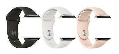 $ CDN11.63 • Buy Genuine Apple Sport Band Watch Strap S M L 38/40mm 42/44mm For Series1 2 3 4 5 6