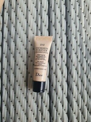 £3 • Buy Diorskin Forever Undercover 24h Full Coverage Foundation Sample 3ml Unboxed