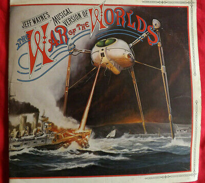 £19.99 • Buy JEFF WAYNE WAR OF THE WORLDS 2 Record Set + Booklet