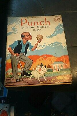 £4.99 • Buy Rare Punch Autumn Special 1940 Magazine  Complete World War 2 WW2 Humour