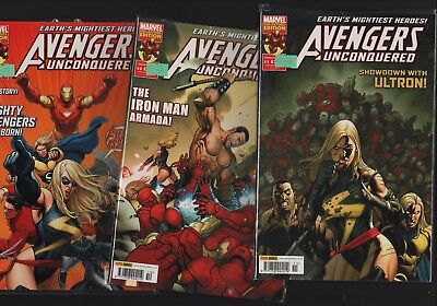 £6.79 • Buy Marvel Avengers Unconquered #9 #10 #11   2009  B8.239
