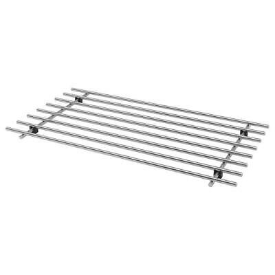 £8.99 • Buy Stainless Steel Trivet Stand Cooking Pot Rack Hot Dishes Heat Resistant 50x28cm
