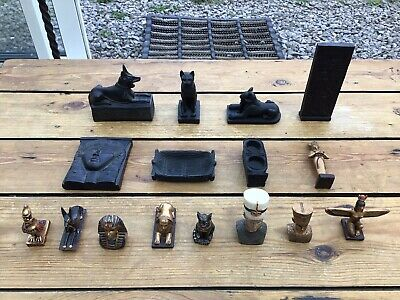 £45 • Buy Lot Of Ancient Egypt Egyptian Ornaments Figures Statues Etc #455