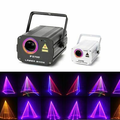 £220.43 • Buy Laser Light DMX 512 Scanner Projector Party Xmas DJ Disco RGB Colorful Stage Kit