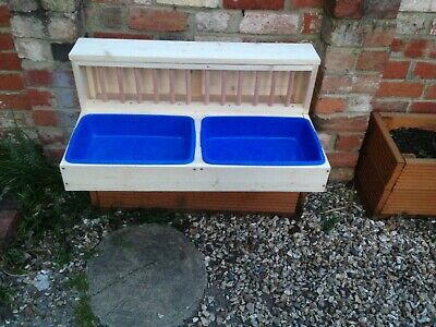 £95 • Buy Double Rabbit Hay Feeder With Litter Trays