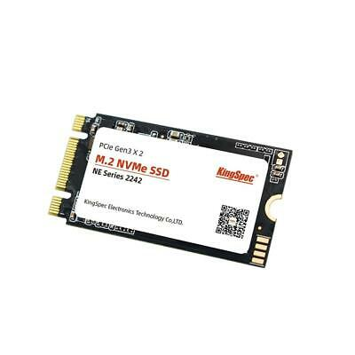 £128.08 • Buy KingSpec SSD Hard Drive For Laptop M.2 NVMe PCIE Protocal 2242 Size 1TB Notebook