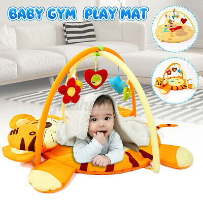 £50.20 • Buy Baby Nursery Play Mat Rug Toddler Infant Lay With Fun Cartoon Hanging Toy ~