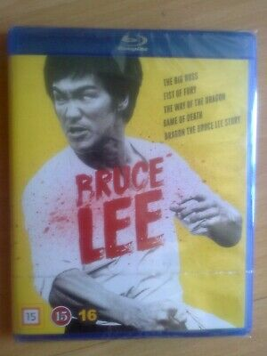 £37.99 • Buy Bruce Lee Blu-ray Set 5 Disc Collection, 2018 (New & Sealed) Complete HK Films