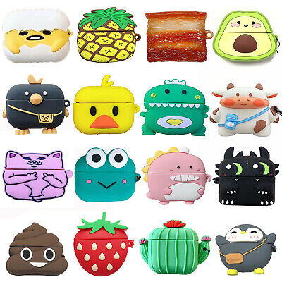 $ CDN8.21 • Buy 3D Cute Cartoon Airpods Silicone Case For Apple Airpod Pro 3 Accessories Cover