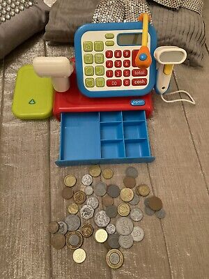 £12 • Buy EARLY LEARNING CENTRE Cash Register Scanner Pin Microphone LCD Checkout Till ELC